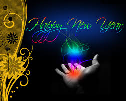 Happy New Year Hand